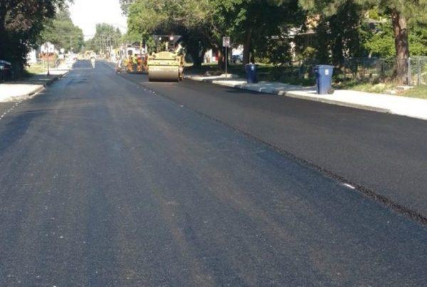 side road paving, poe asphalt