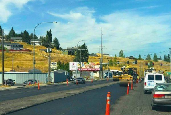 hwy 95, residential paving, road paving, poe asphalt