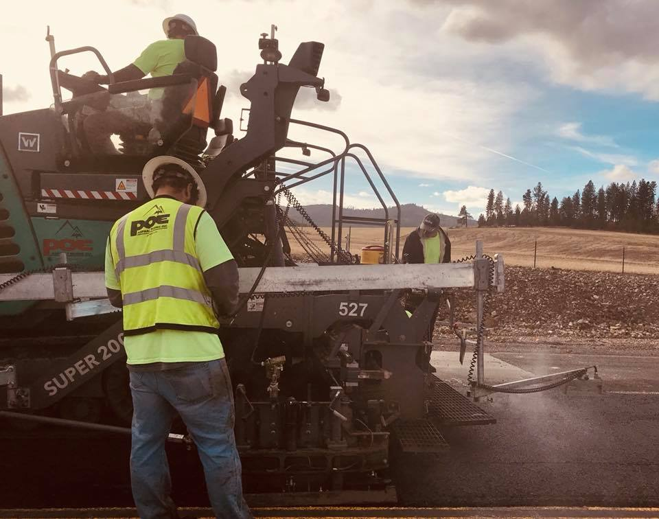 road construction, asphalt paving, blacktop, driveway paving, spokane, post falls, pullman, clarkston
